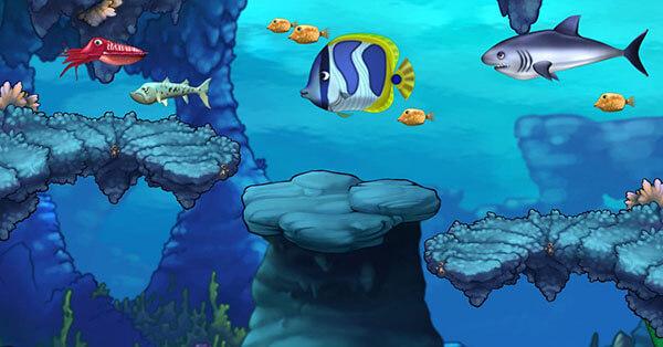 تحميل لعبة السمكة Feeding Frenzy للكمبيوتر | متعة بلا حدود